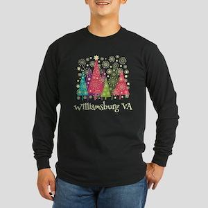 Williamsburg Virginia Long Sleeve Dark T-Shirt