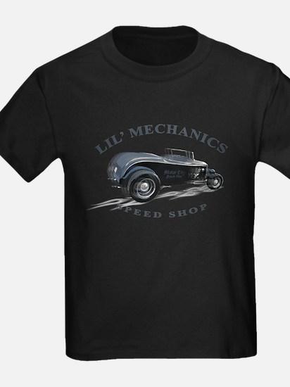 Hot Rod Deuce Lil' Mechanics Kids T-Shirt