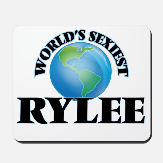 World's Sexiest Rylee Mousepad