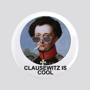 "Clausewitz is Cool. 3.5"" Button (100 pack)"