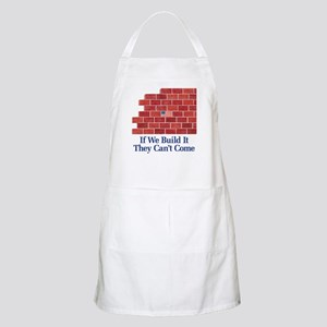 Build the Wall BBQ Apron