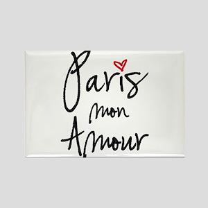 Paris mon amour Magnets
