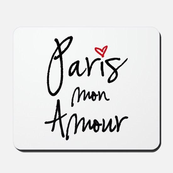 Paris mon amour Mousepad