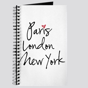 Paris, London, New York Journal