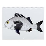 Port Canaveral Florida Pier Fish 1 Wall Calendar