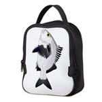 Black Margate fish Neoprene Lunch Bag