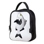 Black Margate fish Neoprene Lunch Bag