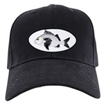 Black Margate fish Baseball Hat