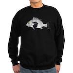 Black Margate fish Sweatshirt