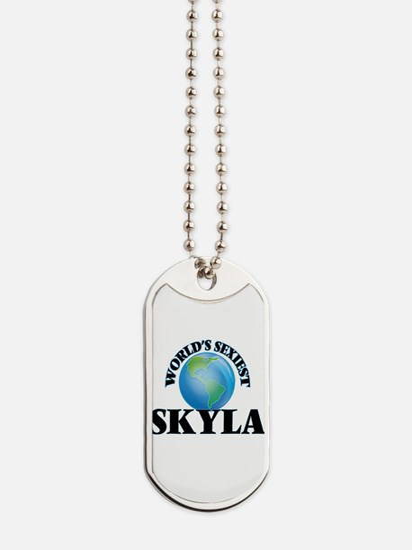 World's Sexiest Skyla Dog Tags