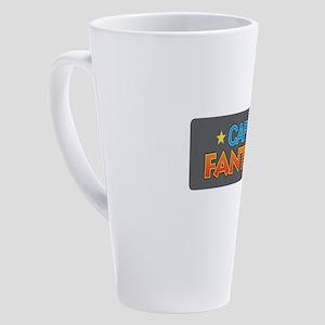 Captain Fantastic 17 oz Latte Mug
