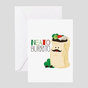 Neato Burrito Greeting Cards