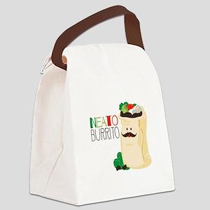 Neato Burrito Canvas Lunch Bag