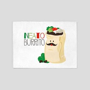 Neato Burrito 5'x7'Area Rug
