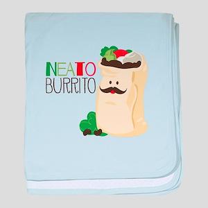 Neato Burrito baby blanket