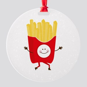 Happy Fries Ornament