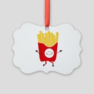 Happy Fries Ornament
