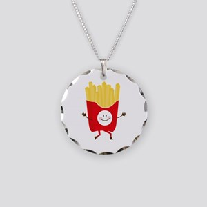 Happy Fries Necklace