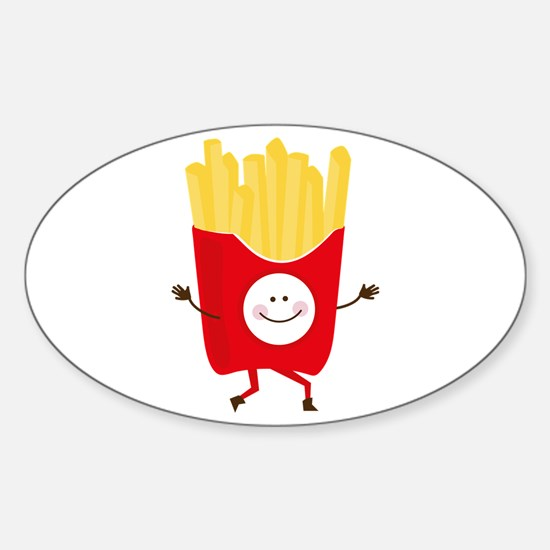 Happy Fries Decal