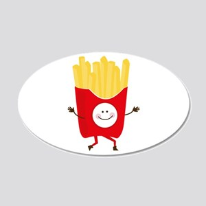 Happy Fries Wall Decal