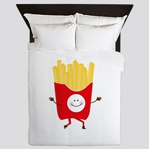 Happy Fries Queen Duvet