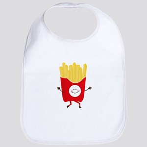 Happy Fries Bib