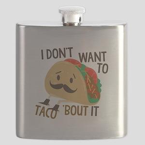 Funny Taco Flask