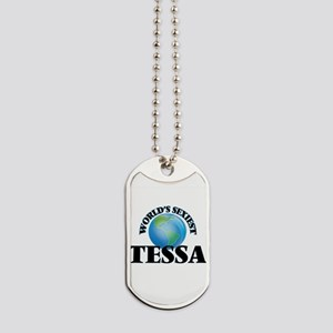 World's Sexiest Tessa Dog Tags