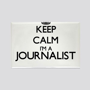 Keep calm I'm a Journalist Magnets