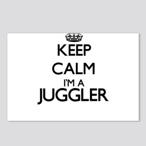 Keep calm I'm a Juggler Postcards (Package of 8)