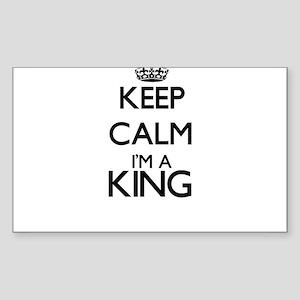 Keep calm I'm a King Sticker