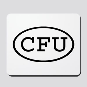 CFU Oval Mousepad