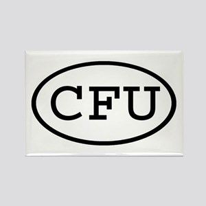 CFU Oval Rectangle Magnet