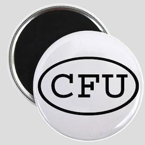 CFU Oval Magnet