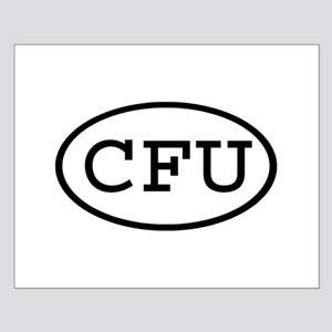 CFU Oval Small Poster