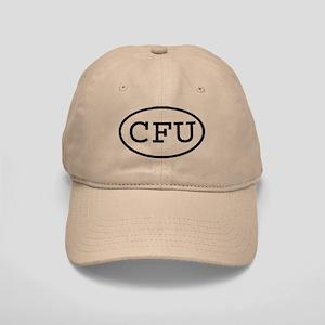 CFU Oval Cap