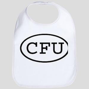 CFU Oval Bib