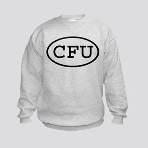 CFU Oval Kids Sweatshirt