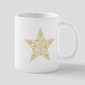 Beautiful Gold Star Mugs