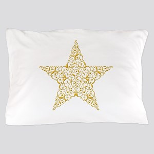 Beautiful Gold Star Pillow Case