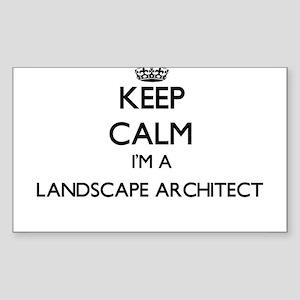 Keep calm I'm a Landscape Architect Sticker