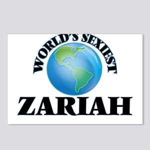 World's Sexiest Zariah Postcards (Package of 8)