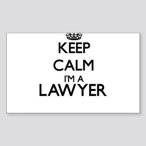 Keep calm I'm a Lawyer Sticker
