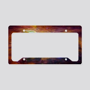 Chaos In Orion License Plate Holder