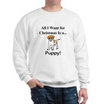 Christmas Puppy Sweatshirt