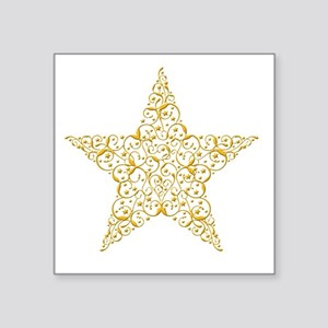 Beautiful Gold Star Sticker