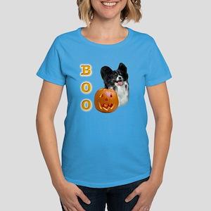 Papillon Boo Women's Dark T-Shirt