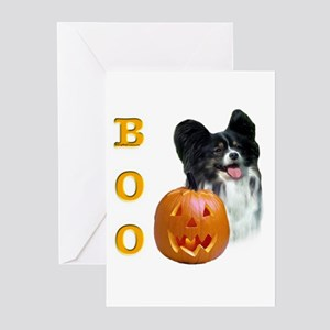 Papillon Boo Greeting Cards (Pk of 10)