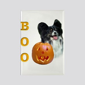Papillon Boo Rectangle Magnet