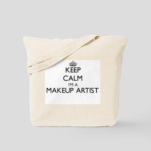 Keep calm I'm a Makeup Artist Tote Bag